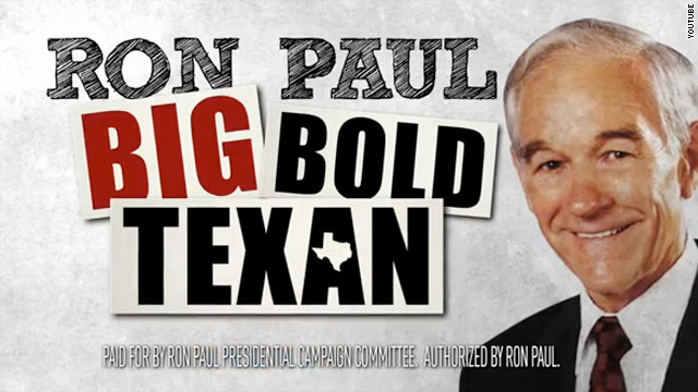 Ron Paul hits home state's airwaves