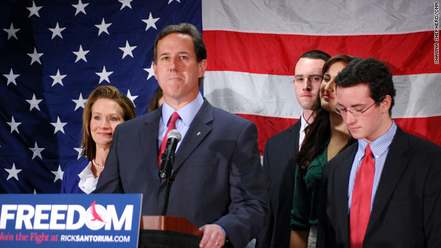 Santorum reflects on family, 'extremist' label with Dobson