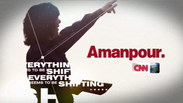 A few minutes with Christiane Amanpour