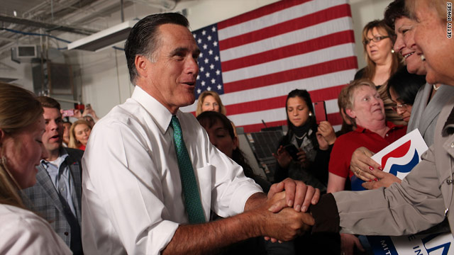 Romney to address 100+ CEOs in Washington