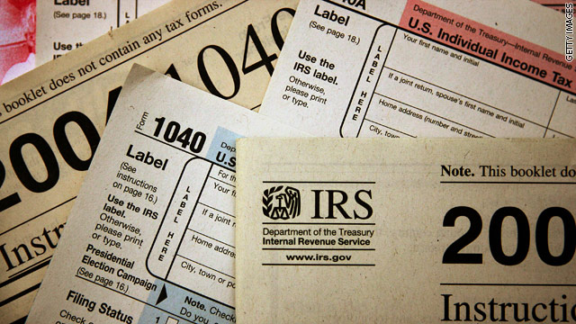 Tax day: Where did the money go in 2012?