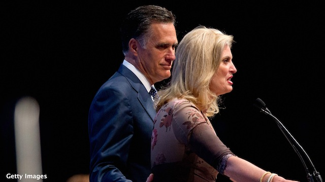 Romney responds to 'stay-at-home mom' comment against wife
