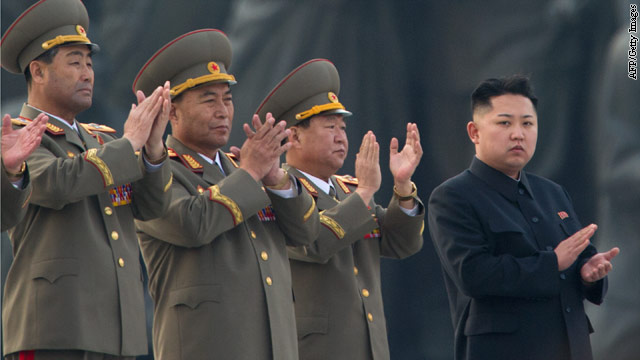 Response to failure tests North Korea's new leader