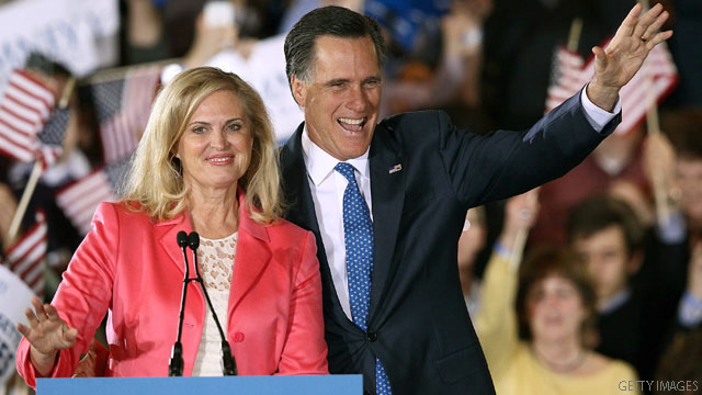 Romney floats new proposals, Ann Romney calls Rosen controversy a &#039;present&#039;