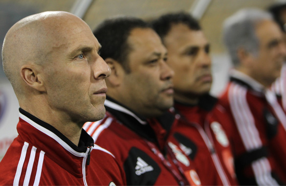 American coach Bob Bradley is seeking to rebuild the fortunes of Egypt's national football team.