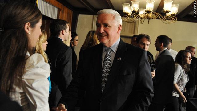 Pennsylvania, Wyoming governors endorse Romney