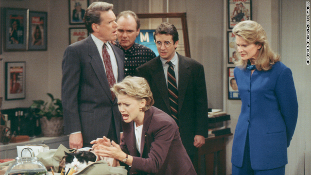 The Throwback: &#039;Murphy Brown&#039; honored with TV Land award