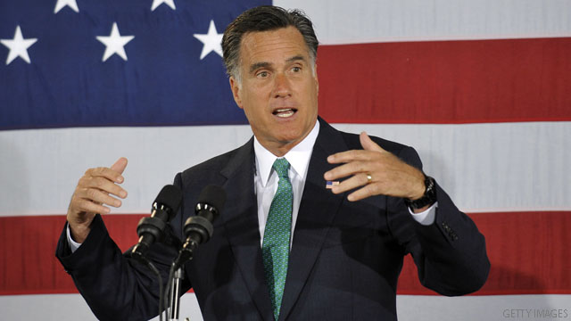 &#039;Strange&#039; claim, Romney maintains