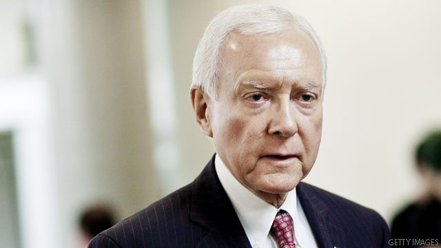 Hatch might 'die before his term' ends, opponent charges