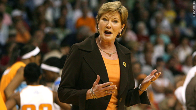 POTUS honors Tennessee&#039;s Pat Summitt