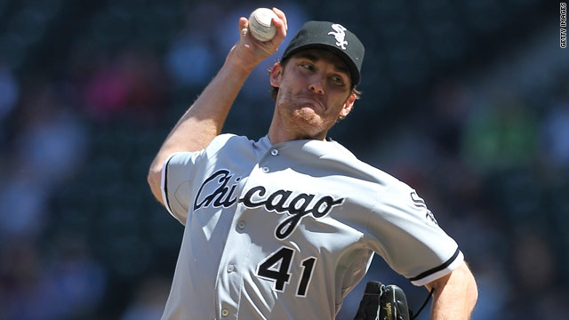 White Sox Humber throws perfect game against Mariners