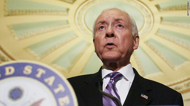 Hatch will face primary election for Senate seat