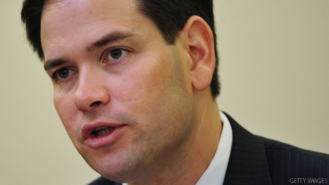Rubio defends Romney over U.S. handling of Chinese dissident, Axelrod fights back