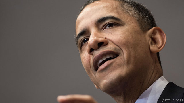 Obama hits high-dollar fund-raiser