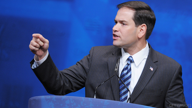 Rubio unleashes harsh attack on Obama in South Carolina