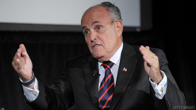 Giuliani: Obama&#039;s Middle East policy &#039;falling apart&#039;