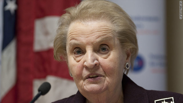 BLITZER&#039;S BLOG: Madeleine Albright speaks out on her hidden past