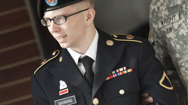 Audio from Bradley Manning posted on internet