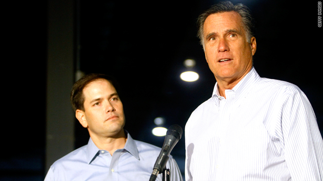 Which V.P. candidate would benefit Mitt Romney more: a woman or a Hispanic?