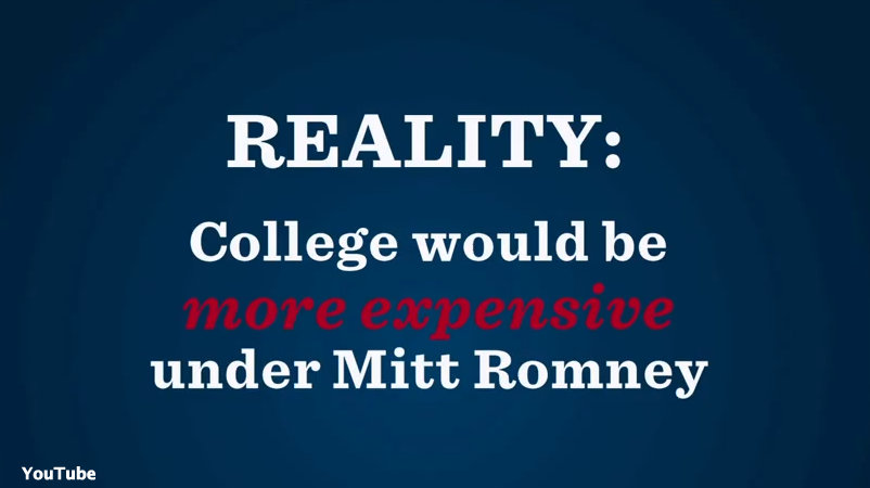 Obama campaign targets Romney over student loans