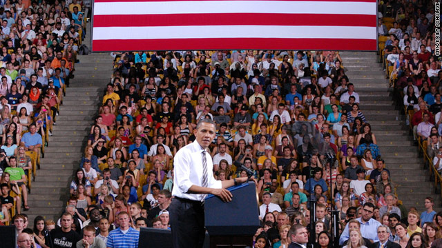 President Obama calls out House Republicans on college tour