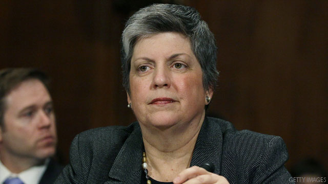 Napolitano: Obama has full confidence in Secret Service director