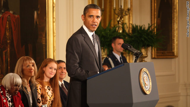 White House announces 2012 Medal of Freedom recipients