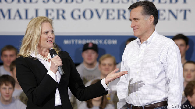 Ann Romney: I had a health 'scare'