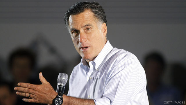 In an interview, Romney declines opportunity to hit Obama back