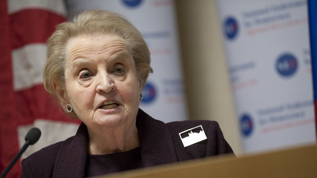 Madeleine Albright to receive Presidential Medal of Freedom