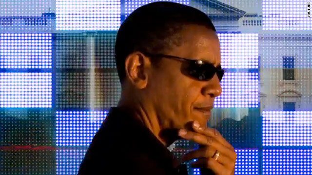 Web ad mocks Obama as 'celebrity president'