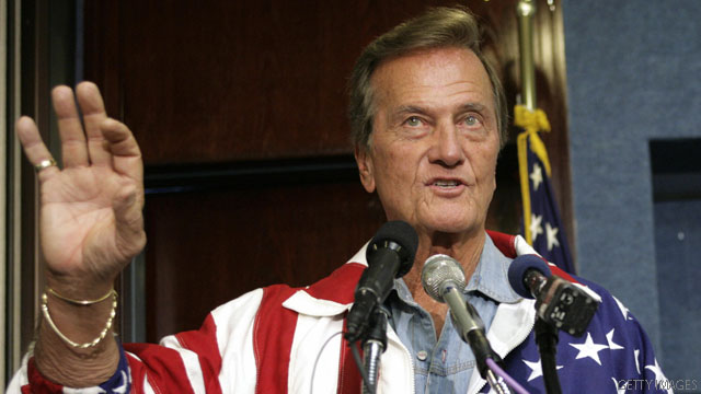 Pat Boone joins Santorum in backing Sanford rival