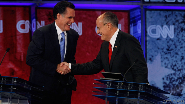 Giuliani and Romney to team up