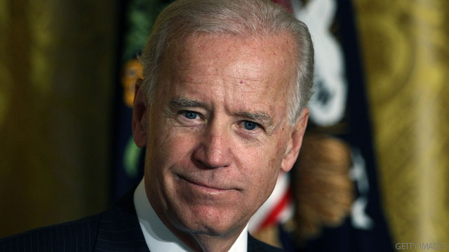 Biden says he is &#039;absolutely comfortable&#039; with same-sex marriage