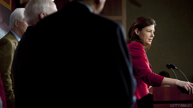 Ayotte wants to take on Biden
