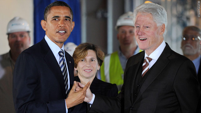 President Clinton joins forces with Obama re-election