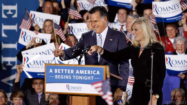 Ann Romney: My 'wild and crazy' husband