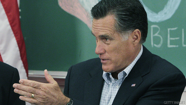 Romney hits Obama on 'productivity' slam