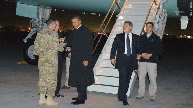 In Afghanistan, Obama pledges cooperation, vows to 'finish the job'