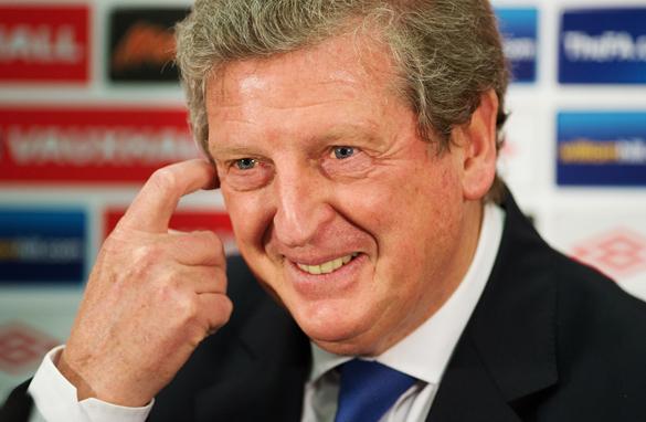 Roy Hodgson has already come under intense media scrutiny as England's new manager. (Getty Images)