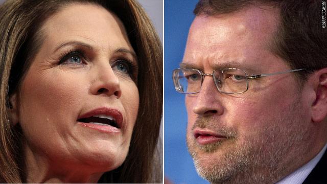 Bachmann, Norquist endorse Mourdock