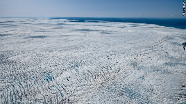 Greenland ice melt could raise seas less than feared, study says
