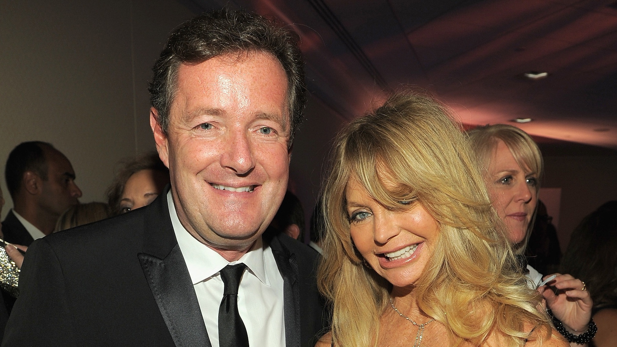 Piers Morgan on the White House Correspondents Dinner and his lovely date, Goldie Hawn