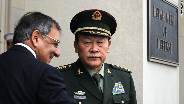 China's top military officer visiting U.S. military installations