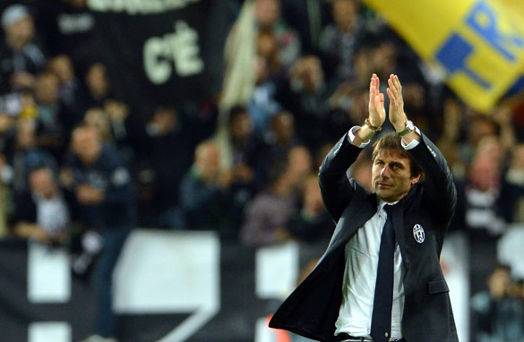 Coach Antonio Conte has returned the good times to Juventus, the 'Old Lady' of Turin. (Getty Images)