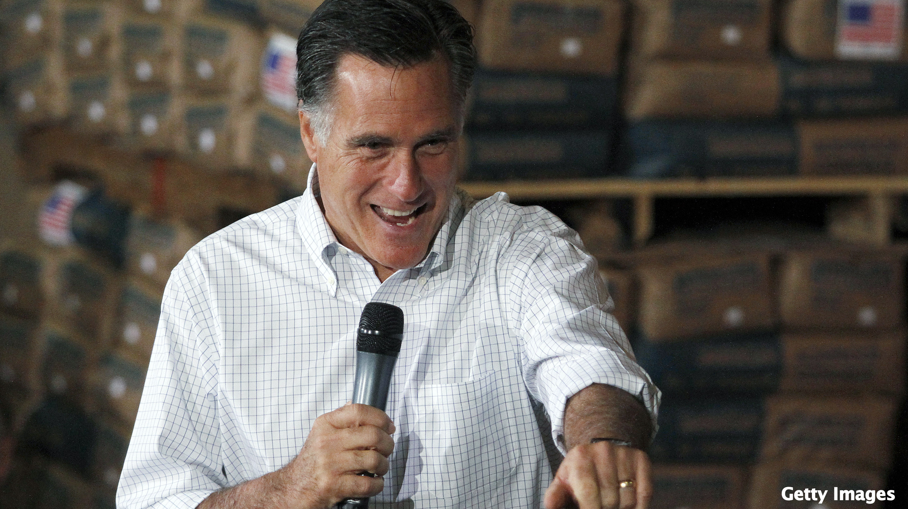 Romney's April cash haul nearly matches Obama's