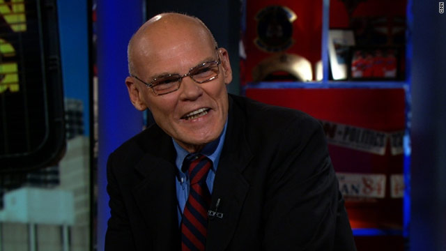 Election isn't 'in the bag,' Carville warns