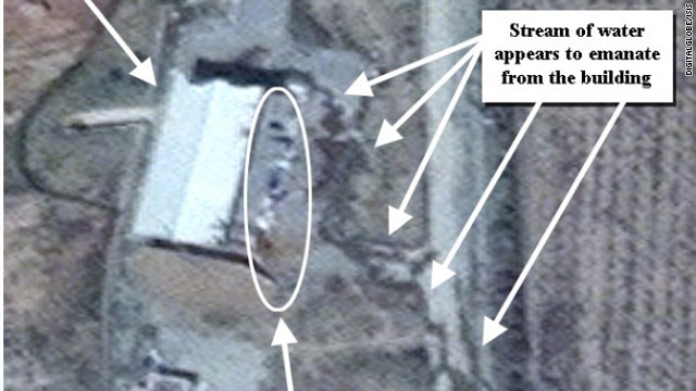 Satellite image shows Iran active at controversial site