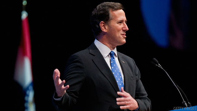 Santorum: On immigration, Obama &#039;has not faithfully executed&#039; the law