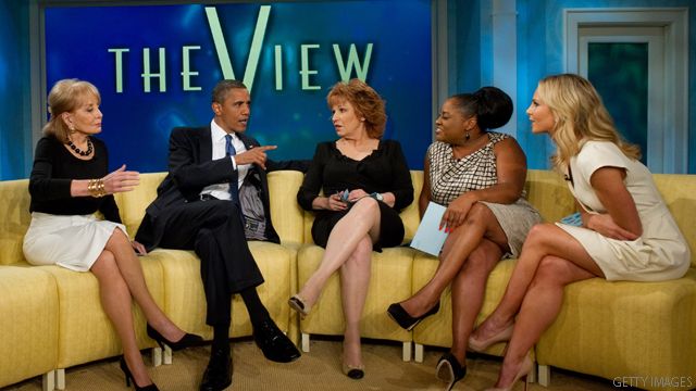 Source: Obama had planned marriage announcement on 'The View'